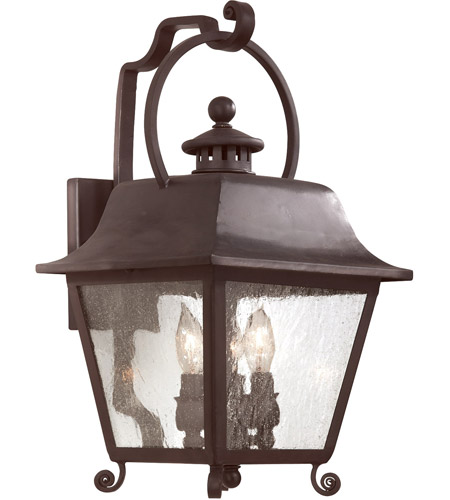 Troy Lighting Bristol 3 Light Outdoor Wall Lantern in Natural Bronze B9442NB photo