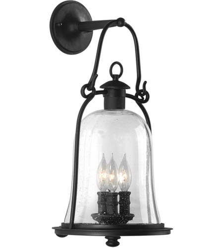 Troy Lighting B9463NB Owings Mill 3 Light 21 inch Natural Bronze Outdoor Wall Lantern photo