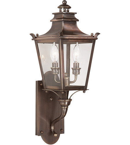 Troy Lighting B9491EB Dorchester 2 Light 23 inch English Bronze Outdoor Wall Lantern photo