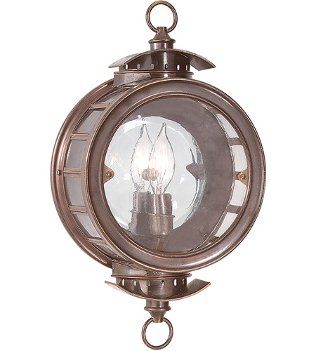 Troy Lighting Charleston 1 Light Outdoor Wall Lantern in Heritage Bronze B9501HB photo