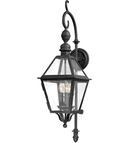 Troy Lighting Townsend 3 Light Outdoor Wall Lantern in Natural Bronze B9621NB photo