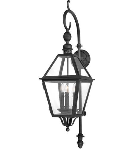 Troy Lighting Townsend 3 Light Outdoor Wall Lantern in Natural Bronze B9622NB photo