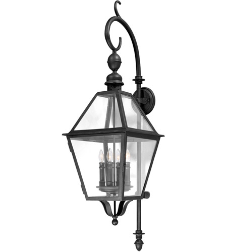 Troy Lighting Townsend 4 Light Outdoor Wall Lantern in Natural Bronze B9623NB photo