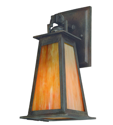 Troy Lighting B9881SBZ-D Lucerne 1 Light 14 inch Statuary Bronze Outdoor Wall Lantern photo