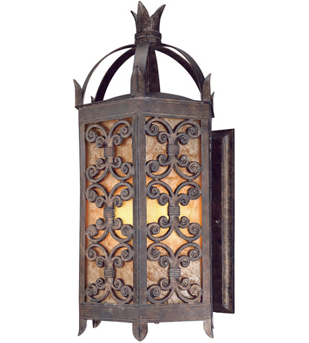 Troy Lighting Gables 4 Light Outdoor Wall Lantern in Charred Gold B9903CG photo