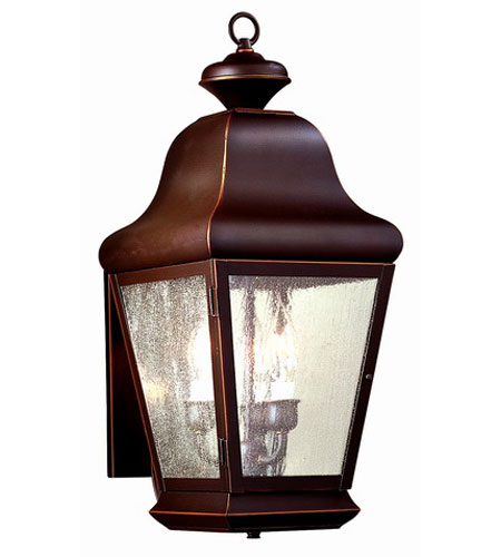Troy Lighting Carlton 3 Light Outdoor Wall Lantern in Oil Rubbed Bronze BCD4920OB photo