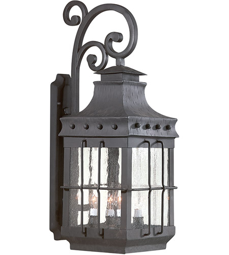 Troy Lighting Dover 4 Light Outdoor Wall Lantern in Natural Bronze BCD8974NB photo