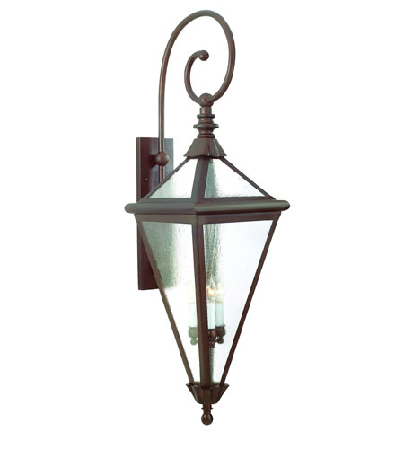 Troy Lighting Geneva 4 Light Outdoor Wall Lantern in Old Rust BCD8993OR photo