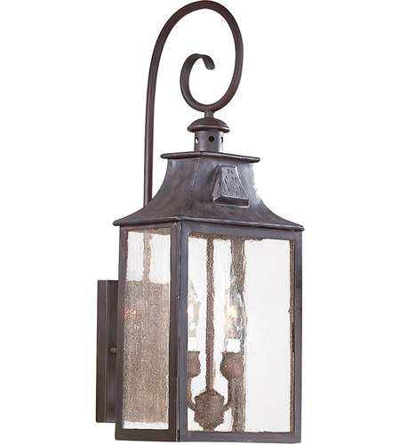 Troy Lighting BCD9002OBZ Newton 2 Light 23 inch Old Bronze Outdoor Wall Lantern in Incandescent  photo