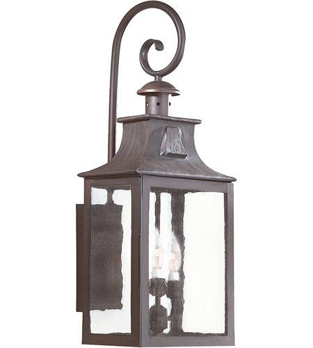 Troy Lighting BCD9005OBZ Newton 3 Light 27 inch Old Bronze Outdoor Wall Lantern photo
