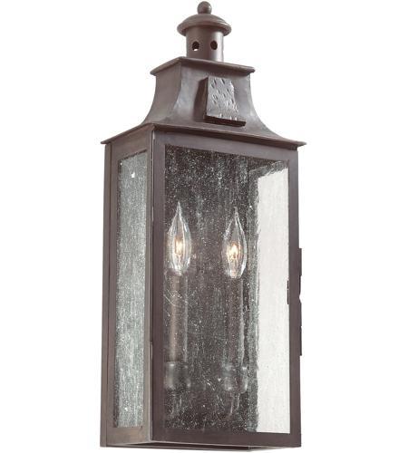 Troy Lighting BCD9008OBZ Newton 2 Light 20 inch Old Bronze Outdoor Wall Pocket Lantern in ...