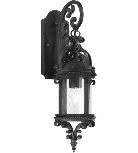 Troy Lighting BCD9121OBZ Pamplona 1 Light 19 inch Old Bronze Outdoor Wall Lantern  photo