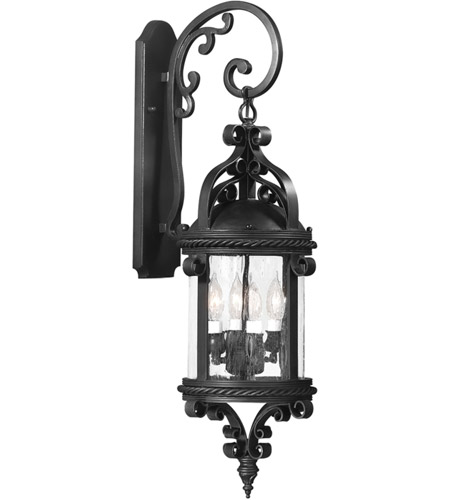 Troy Lighting BCD9122OBZ Pamplona 4 Light 30 inch Old Bronze Outdoor Wall Lantern in Incandescent photo