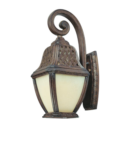 Troy Lighting BF2082BI Biscayne 1 Light 19 inch Biscayne Outdoor Wall Lantern Fluorescent photo