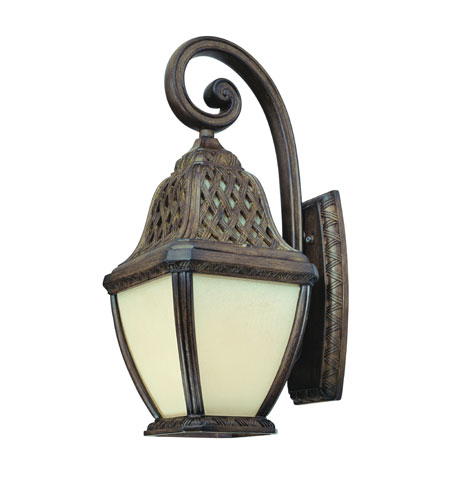 Troy Lighting Biscayne 1 Light Outdoor Wall Lantern Fluorescent in Biscayne BF2083BI photo