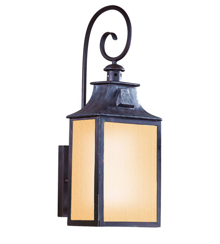 Troy Lighting BF9002OBZ Newton 1 Light 23 inch Old Bronze Outdoor Wall Lantern Fluorescent photo