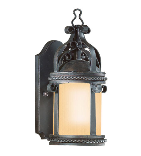 Troy Lighting BF9120OBZ Pamplona 1 Light 12 inch Old Bronze Outdoor Wall Lantern photo