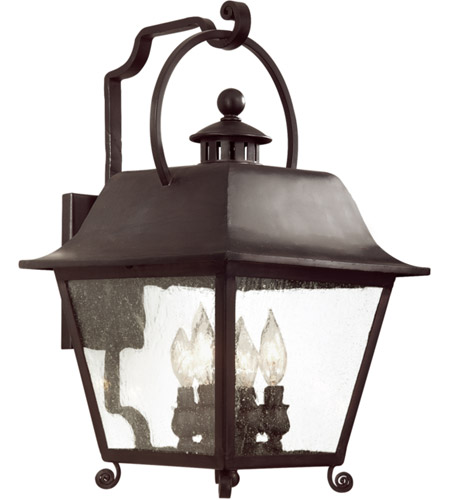Troy Lighting BF9443NB Bristol 1 Light 21 inch Natural Bronze Outdoor Wall Lantern Fluorescent photo