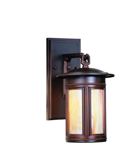 Troy Lighting Highland Park 1 Light Outdoor Wall Lantern Dark Sky in Oil Rubbed Bronze BIH6914OB-D photo