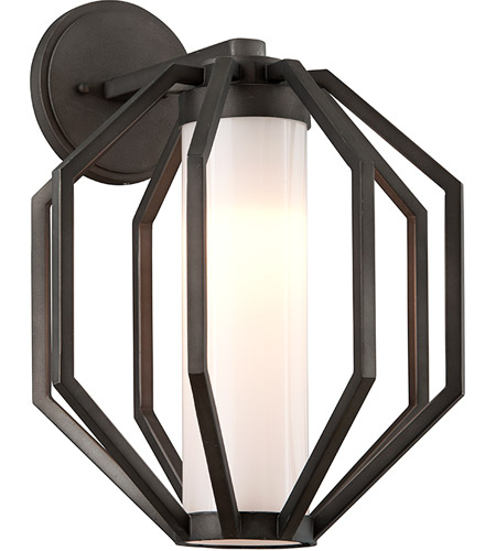 Troy Lighting BL4983 Boundary LED 17 inch Textured Graphite Outdoor Wall Light photo