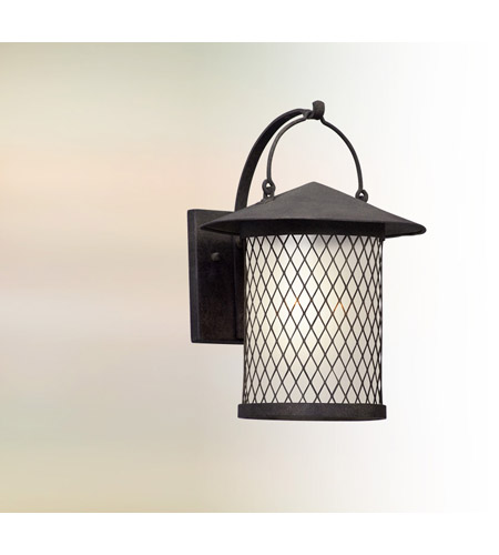 Troy Lighting BL5172 Altamont LED 14 inch French Iron Outdoor Wall Lantern photo