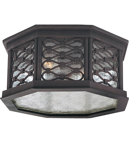 Troy Lighting C2370OI Los Olivos 2 Light 13 inch Old Iron Outdoor Flush Mount photo