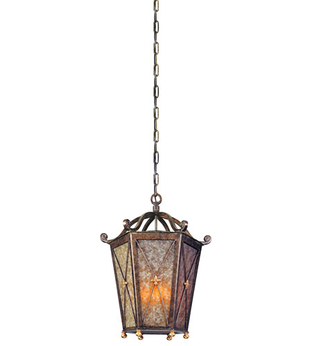 Troy Lighting Cheshire 4 Light Outdoor Hanging Lantern in Bronze Leaf F1267BLF photo