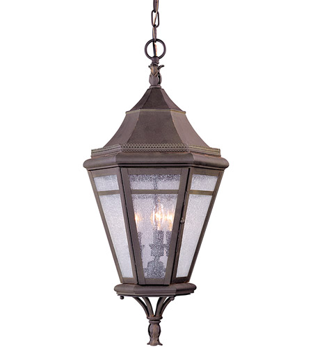Troy Lighting F1276NR Morgan Hill 3 Light 13 inch Natural Rust Outdoor Hanging Lantern photo