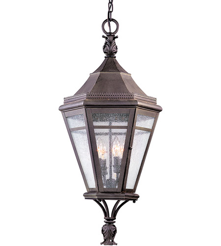 Troy Lighting F1277NR Morgan Hill 4 Light 15 inch Natural Rust Outdoor Hanging Lantern photo