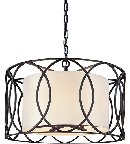 Troy Lighting F1285DB Sausalito 5 Light 25 inch Deep Bronze Pendant Dining Ceiling Light photo