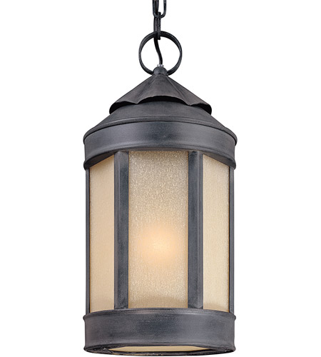 Troy Lighting F1468AI Andersons Forge 1 Light 9 inch Aged Iron Outdoor Hanging Lantern photo