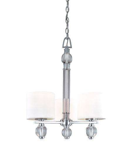 Troy Lighting Bentley 3 Light Chandelier in Polish Chrome F1588PC photo
