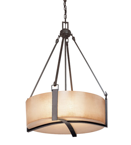Troy Lighting F1743ABZ Austin 4 Light 25 inch Antique Bronze Pendant Ceiling Light photo