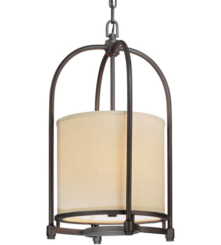 Troy Lighting Redmond 3 Light Hanging Pendant in Federal Bronze F1803FBZ photo