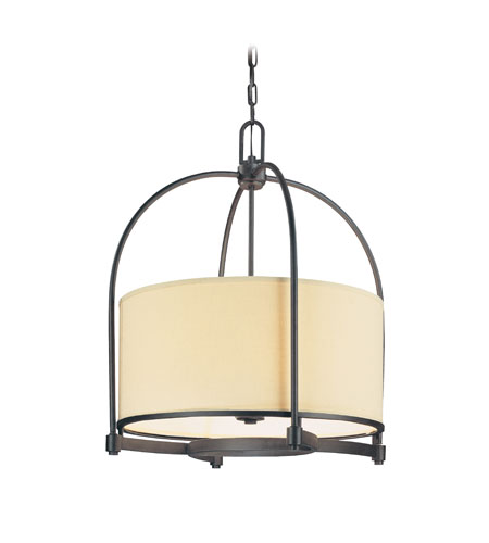 Troy Lighting Redmond 6 Light Pendant in Federal Bronze F1806FBZ photo