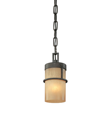 Troy Lighting Bamboo 1 Light Mini Pendant in Bamboo Bronze F1847BB photo