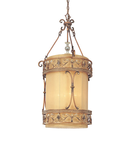 Troy Lighting F1954SBZ Heirloom 4 Light 22 inch Sunset Bronze Entry Chandelier Ceiling Light photo