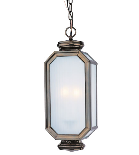 Troy Lighting F2007HB Lexington 2 Light 8 inch Heritage Bronze Outdoor Hanging Lantern photo