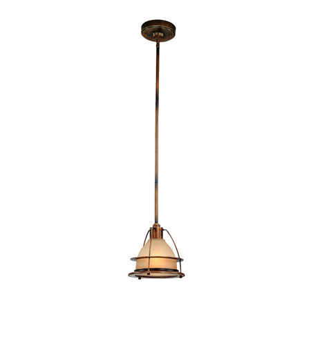 Troy Lighting Bristol Bay 1 Light Pendant in Sunset Bronze F2056SBZ photo