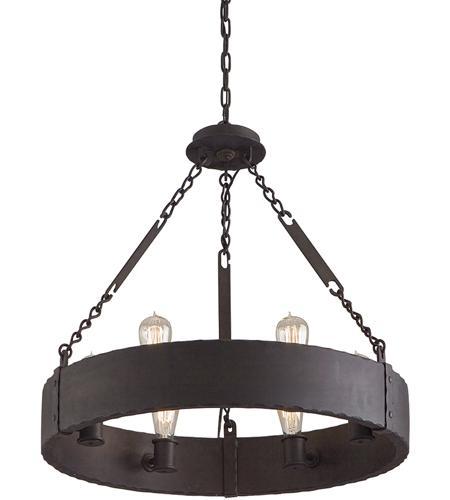 Troy lighting f2503cb jackson 6 light 26 inch copper bronze pendant ceiling light