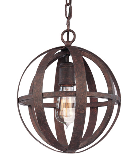 Troy Lighting F2511WI Flatiron 1 Light 10 inch Weathered Iron Pendant Ceiling Light photo
