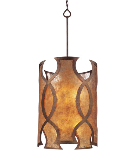Troy Lighting F2596 Mandarin 8 Light 18 inch Mandarin Copper Pendant Entry Ceiling Light photo