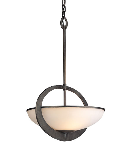 Troy Lighting Wyland 2 Light Pendant in Aged Pewter F2633 photo