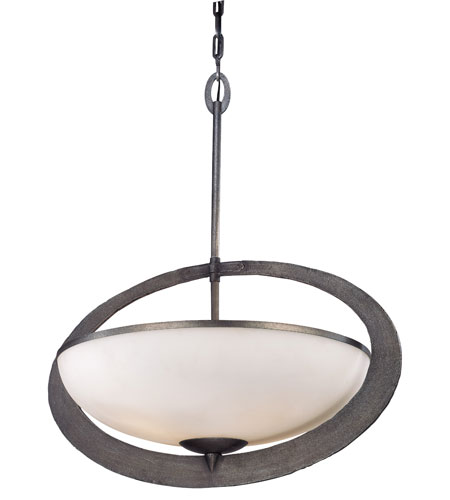 Troy Lighting F2635 Wyland 4 Light Aged Pewter Pendant Ceiling Light