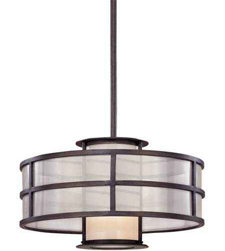 Troy Lighting F2735 Discus 1 Light 18 inch Graphite Pendant Ceiling Light in Incandescent photo