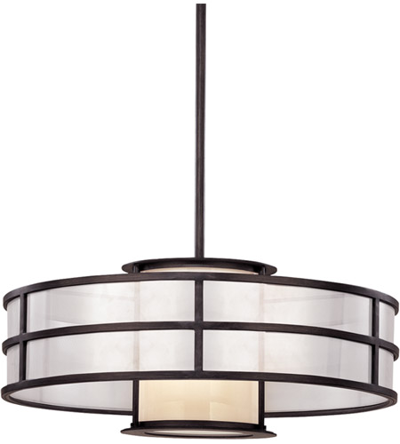 Troy Lighting F2736 Discus 1 Light 24 inch Graphite Pendant Ceiling Light in Incandescent photo