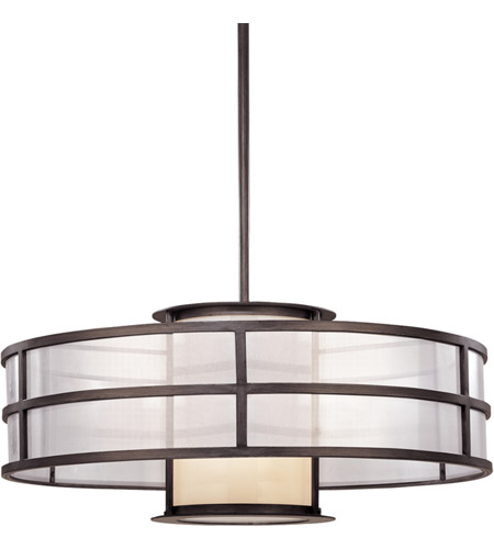 Troy Lighting F2737 Discus 2 Light 32 inch Graphite Pendant Ceiling Light in Incandescent photo
