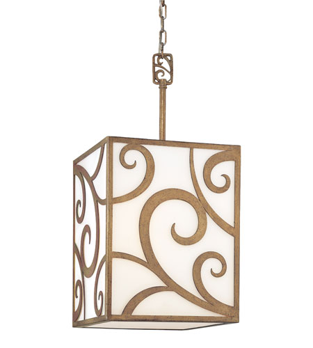 Troy Lighting Pierre 2 Light Pendant in Autumn Leaf F2754 photo