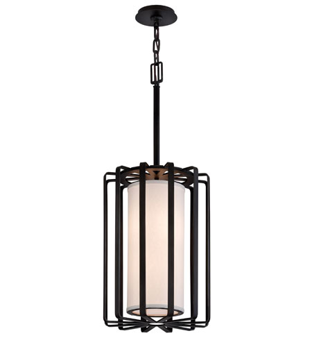 Troy Lighting Drum 2 Light Pendant in Bronze F2813BZ-I photo