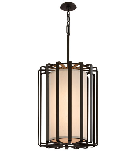 Troy Lighting Drum 2 Light Pendant in Bronze F2814BZ-L photo